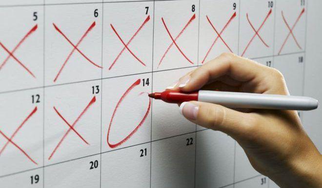 Нерегулярные менструации