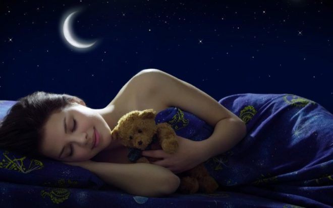Очень важно спать именно ночью