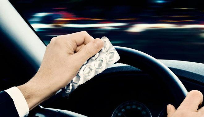 Принимать мелатонин противопоказано перед поездкой за рулем