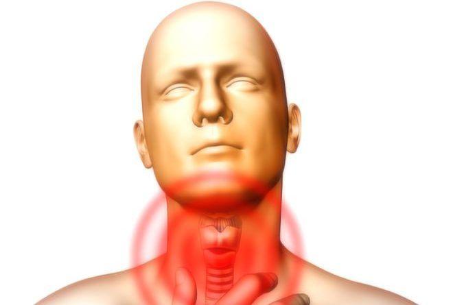 Боль в горле при щитовидке