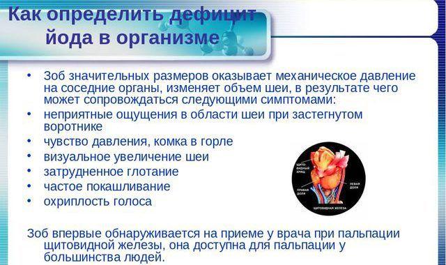 Дефицит йода в организме