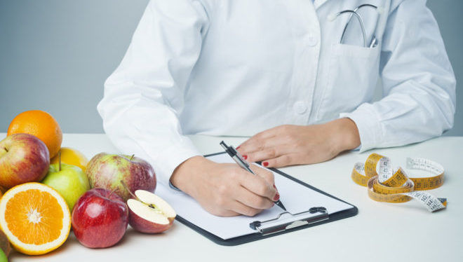 Диетолог назначает диету