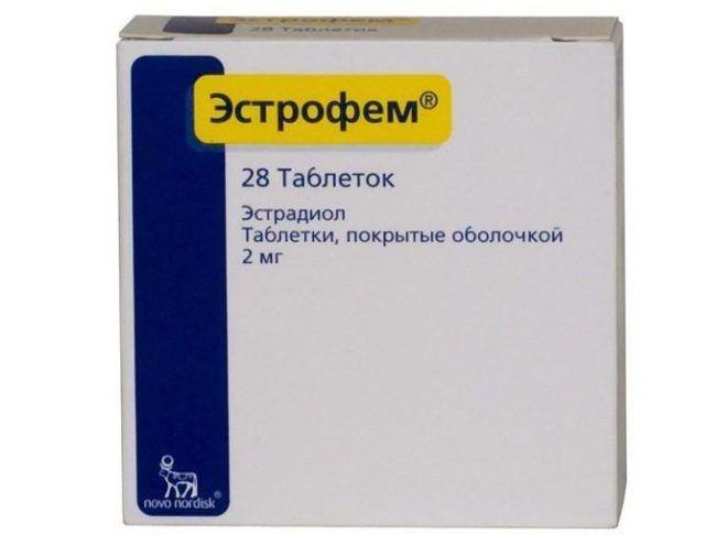 Эстрофем таблетки