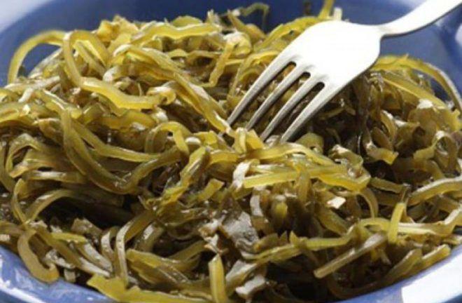 Морские водоросли и блюда из них