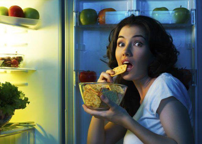 Ночные приёмы пищи причины ожирения