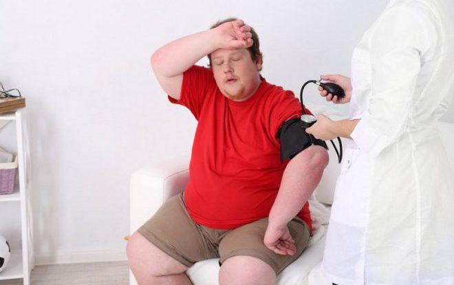 Ожирение у детей осложнения