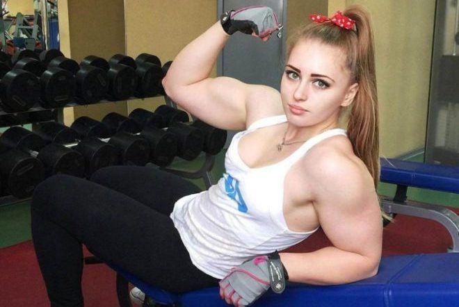 Прекрасно развитой мускулатуры