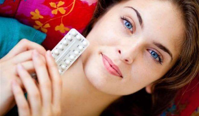 Прием гормональных таблеток