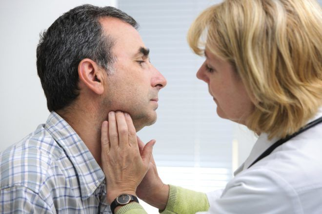 Щитовидка у мужчин