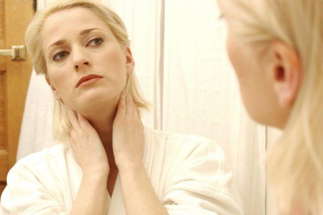 Самоосмотр щитовидки