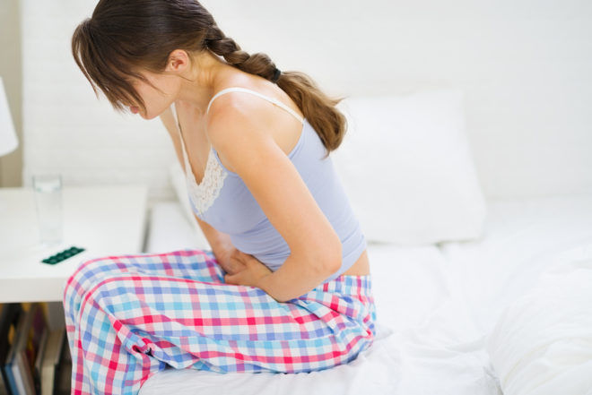Сильная боль во время менструации