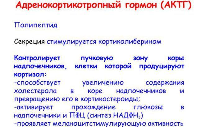Синтез АКТГ
