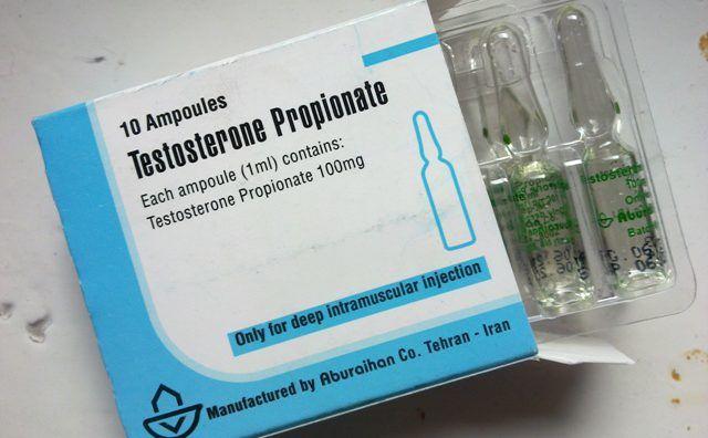 Тестостерон в ампулах