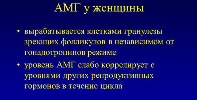 АМГ гормон