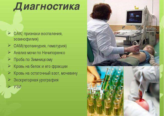 Диагностика гематурии