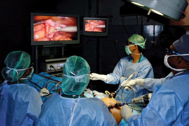 Хирургического вмешательство