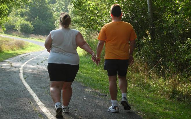 Ходьба на месте при ожирении