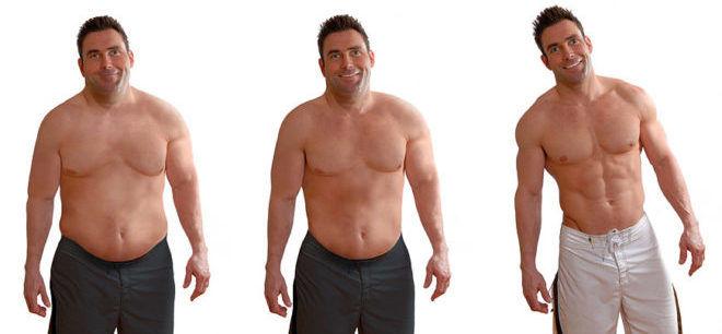 Излишний вес у мужчин