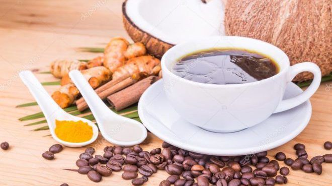 Куркума в кофе