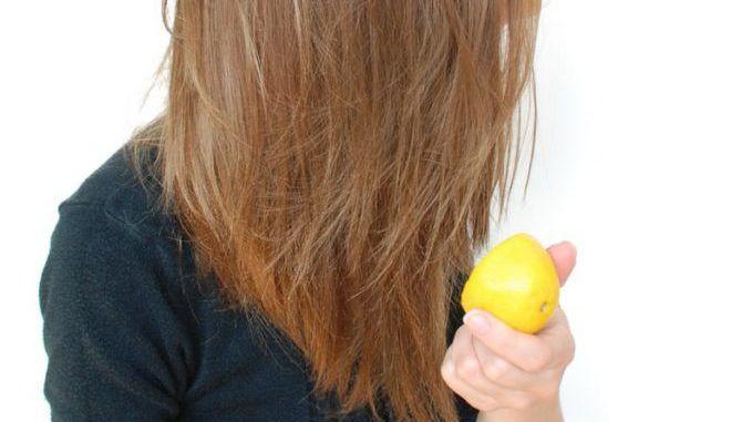 Лимонный сок для роста волос