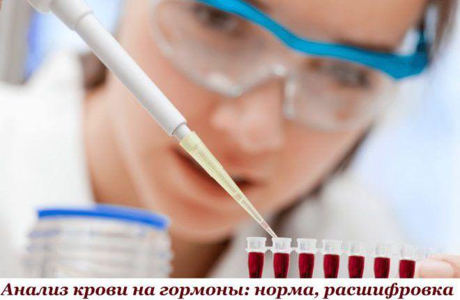 Норма гормона в крови