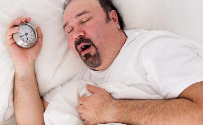 Остановка дыхания во время сна