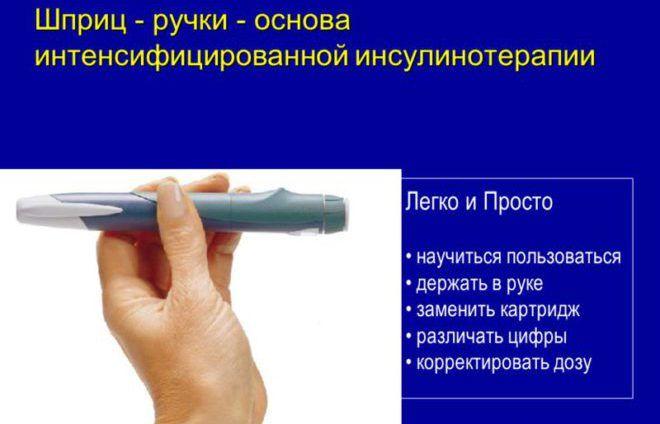 Преимущество шприц ручки