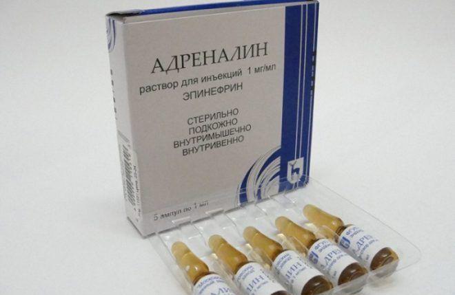 Препарат адреналин