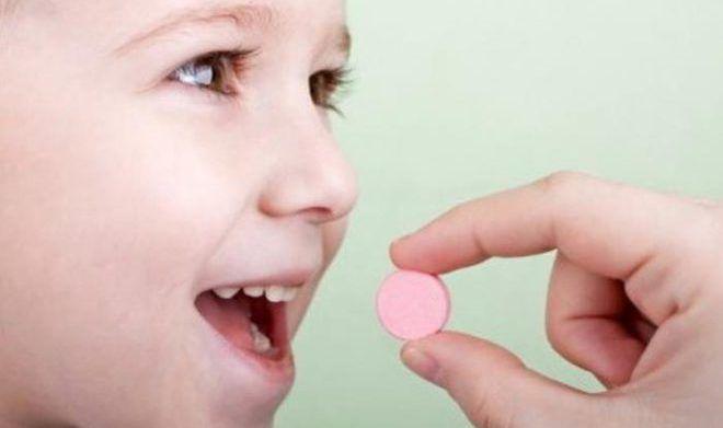 Прием препарата детьми