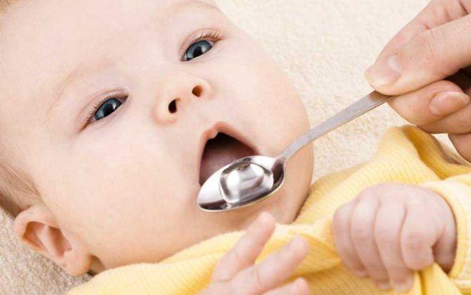 Прием препаратов новоржденым