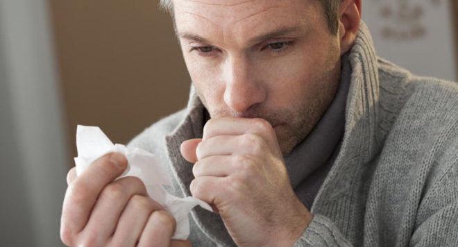 Резкий кашель