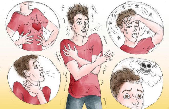 Симптомы симпато-адреналового криза