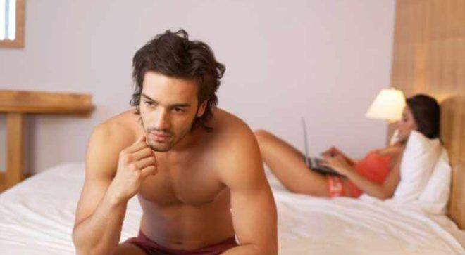 Снижение либидо у мужчин