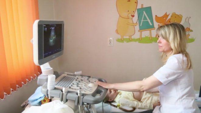 Ультразвуковое иследование щитовидки у детей