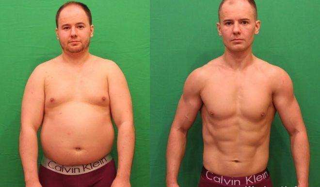 Замена мышечной массы на жир у мужчин
