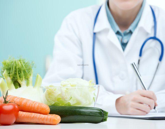Планирование диеты c врачом-диетологом