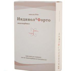 Препарат от мастопатии Индинол Форто