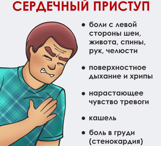 Признаком какого заболевания является покалывание в сердце