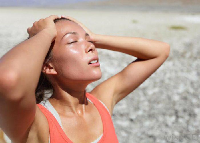 Избегать нахождения под прямыми солнечными лучами