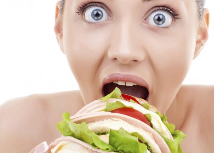 Появление сильного чувства голода