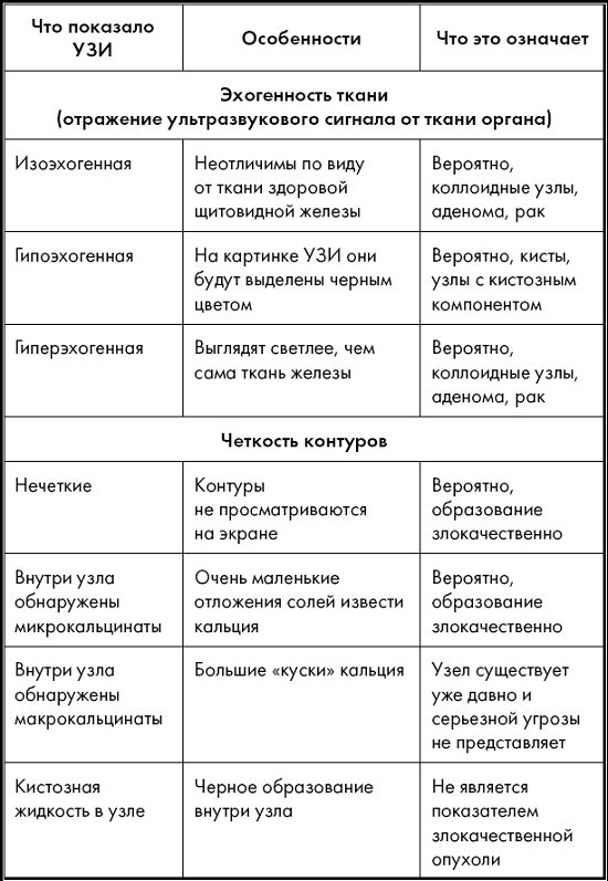 Расшифровка УЗИ поджелудочной железы